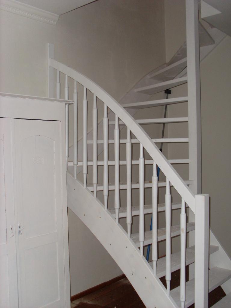 Houten trappen op maat gemaakt for Houten trappen op maat gemaakt